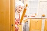 Fototapety Scary grandma