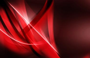 Czerwony fale świetlne streszczenie
