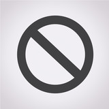 blank ban icon