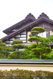 Naklejka 日本の古い様式の家屋