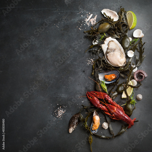 Poster Food background
