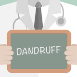 Medical Board Dandruff poster