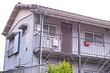 日本の古いアパート