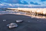 Ostseeküste im Winter