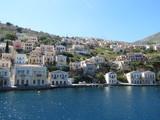 Fototapeta Grèce - Ile de Symi