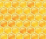 Fotoroleta abstract background honeycomb