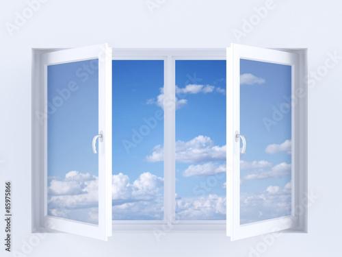 Fototapeta Sky in the window