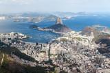 Fototapeta Aerial view of Rio de Janeiro