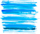 Vector watercolor blue background. Watercolor layers of different - 85989247