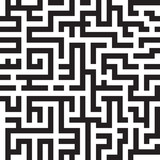 Maze background, seamless pattern, vector