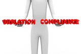 compliance violation poster