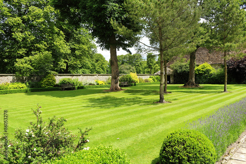 obraz PCV Formal English Garden