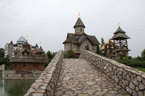 Valokuva Ethno Village / View at Stanisici ethno village near Bijeljina, Bosnia and Herzegovina