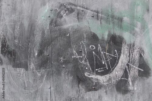 Aluminium Graffiti Grey texture