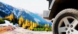 Jeep car offroad dirt adventure trail
