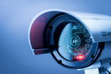 Security CCTV camera in office building - 86090219