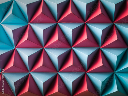 Plakat abstract polygonal background