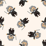 character musician conductor ,seamless pattern