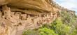 Panorama of Cliff Palace - Mesa Verde