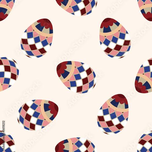 Materiał do szycia easter egg icon 10,seamless pattern