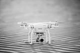 Luftaufnahme - Quadrocopter am Start