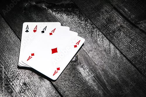 Poster Poker d'assi