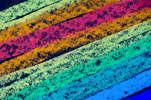Obraz crayon drawn rainbow spectrum