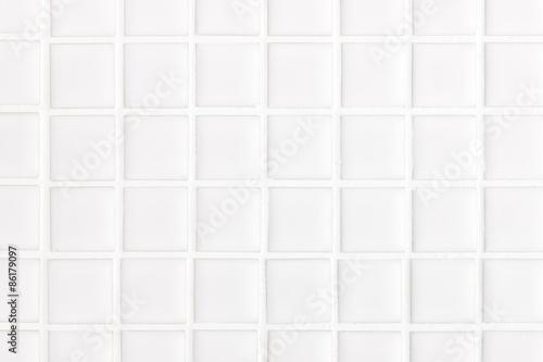 白いタイル