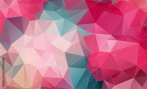 Fotobehang Geometrische Achtergrond Vintage Two-dimensional colorful background