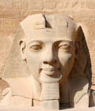 Fototapeta Head of Ramses II at the Luxor Temple, Egypt