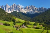The Dolomites in the European Alps