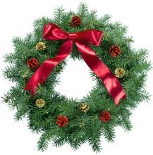 Christmas, Wreath, Holiday.