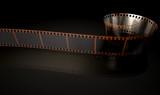 Fototapeta Film Strip Curled