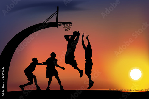Fotografiet basketball