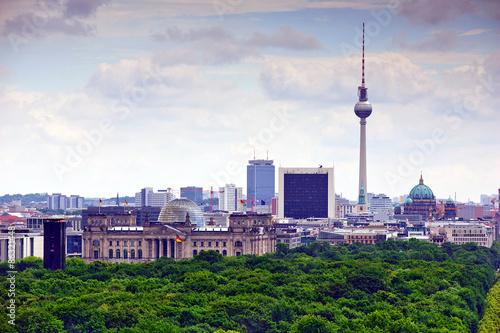 Poszter berlin cityscape