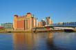 roleta: Bridge on Tyne River, Newcastle, England
