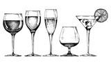 Fototapety goblet set