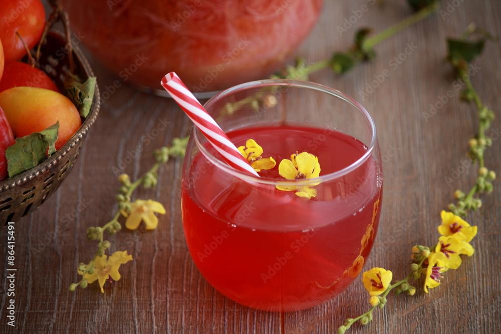 lemoniada herbata woda - powiększenie
