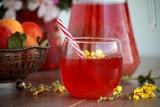 Fotoroleta fruit drink
