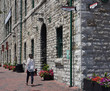 Toronto Distillery District, Victorian industrial buildings converted to boutiques and art galleries