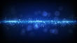 blue light stripe futuristic background