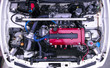 Постер, плакат: Tuned Honda B18 engine in Integra type R