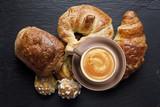 Fototapety Café et Croissant