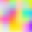 Colorful geometric background with  soft stylish color tones