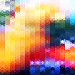Abstract colorful geometric background with shiny vibrant color tones