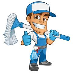 limpiador profecional © grafico2011