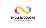 Endless Colors v2 Logo  template