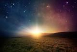 Fototapety Space sunrise