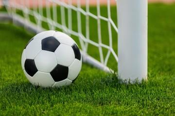 Soccer, Goal, Ball.