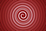 Fototapeta abstract spiral bright red